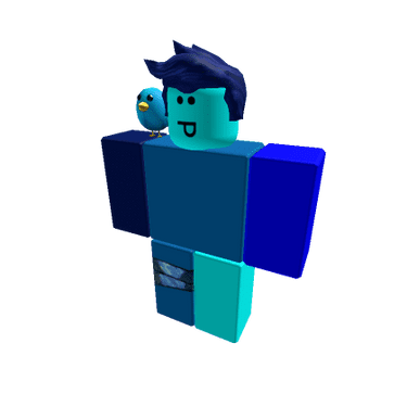 Blue Blob's Roblox Avatar
