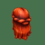 Belle Of Belfast Long Red Hair item