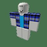 Blue Plaid Shirt  item